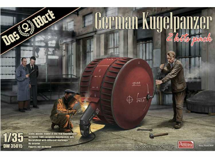Das Werk German Kugelpanzer (2 Kits) 35015