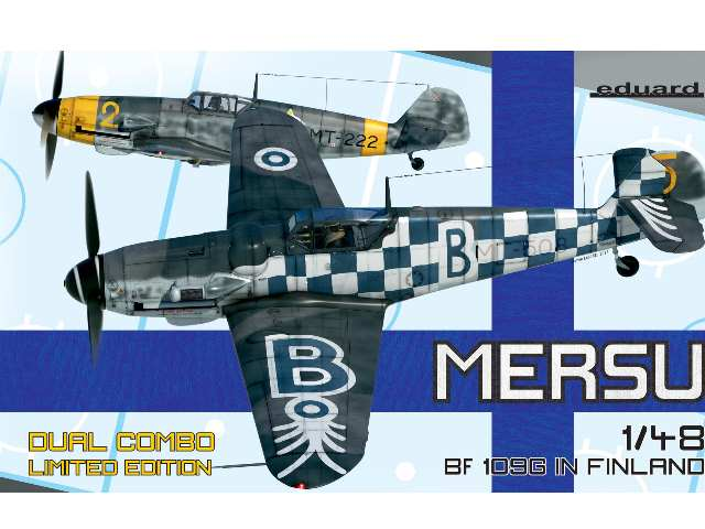 Mersu - Bf109G in Finland Dual Combo -  *Limited Stock At This Price*