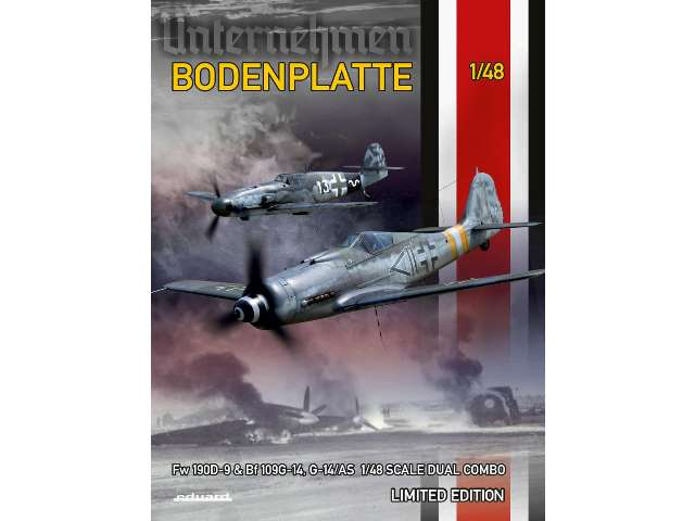 Bodenplatte Dual Combo - Fw 190D-9 and  Bf 109G-14 (G-14/AS)