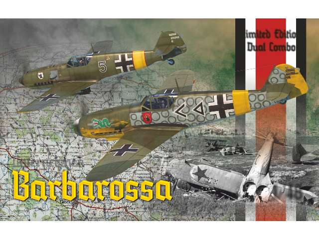 Barbarossa -  Bf 109 E and Bf 109 F-2