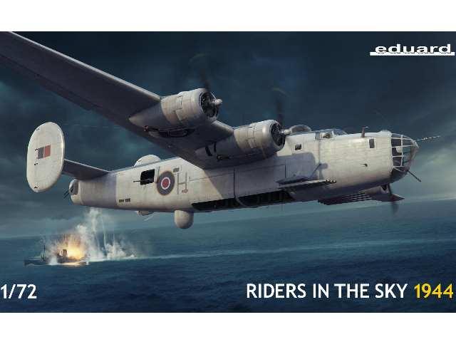 Eduard 1/72 2121 RAF B-24 Liberator - Riders in the Sky