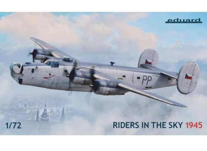 Eduard 1/72 2123 B-24 Liberator GR Mk.VI / Mk.VIII Riders in the Sky 1945