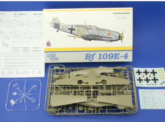 Eduard 1/32 3403 Bf109E-4 - Weekend Edition