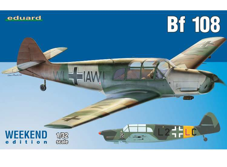 Eduard Bf-108 Taifun - Weekend Edition 3404