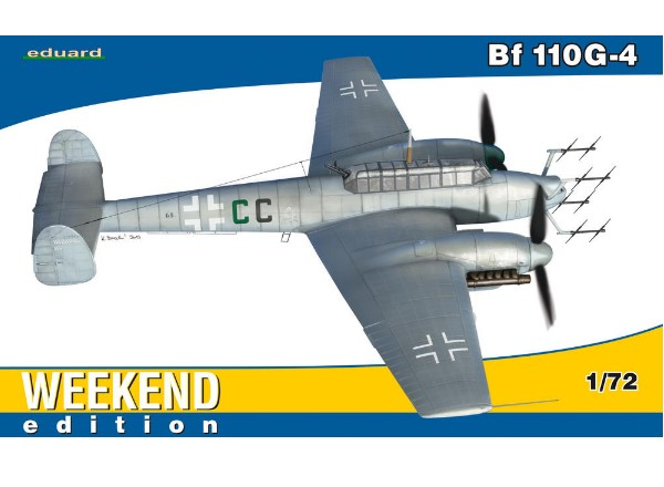 Eduard 1/72 7422 Bf 110G-4 - Weekend Edition