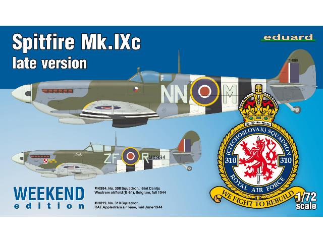 Eduard Spitfire Mk. IXc late version - Weekend Edition