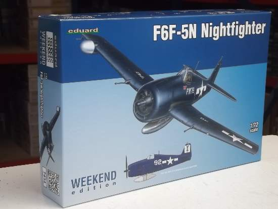 Eduard F6F-5N Nightfighter - Weekend Edition
