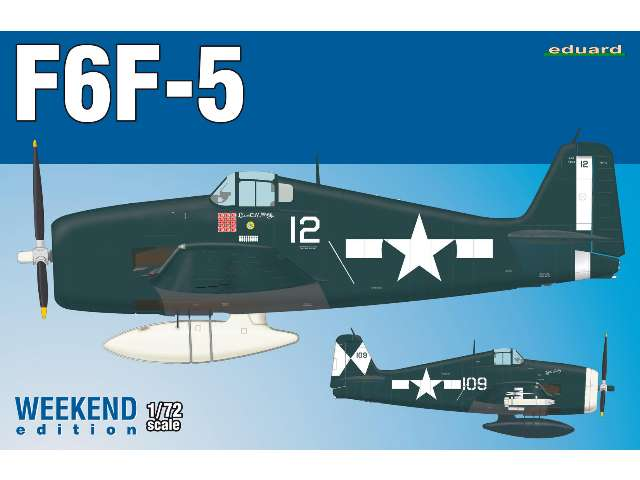 Eduard US WWII Fighter F6F-5 - Weekend Edition 7450