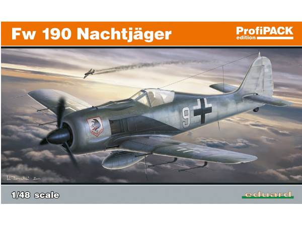 Eduard Fw 190A Nightfighter - Profipack Edition