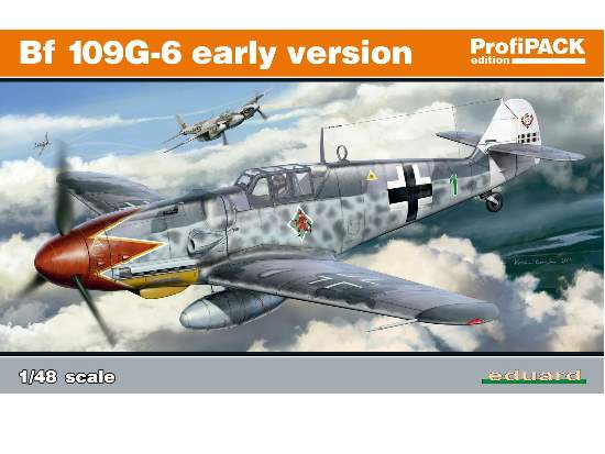 Eduard Bf-109G-6 Early Version - Profipack