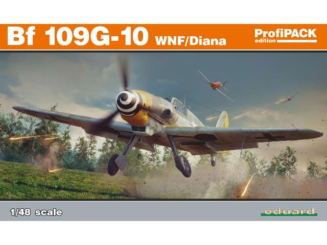 Bf 109G-10 WNF/ Diana - Profipack Edition