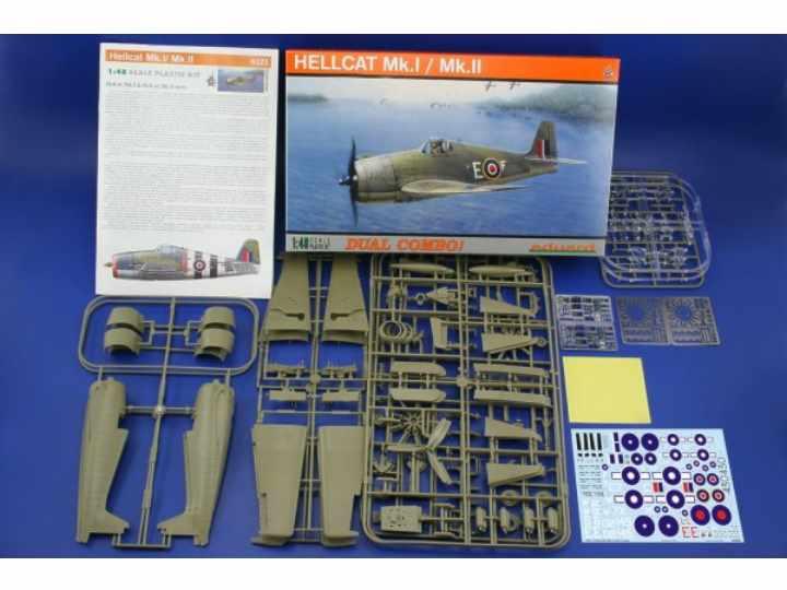 Eduard Hellcat Mk.II Dual Combo [2 kits)