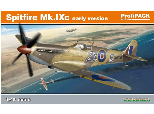 Eduard Spitfire Mk. IXc early version - Profipack Edition