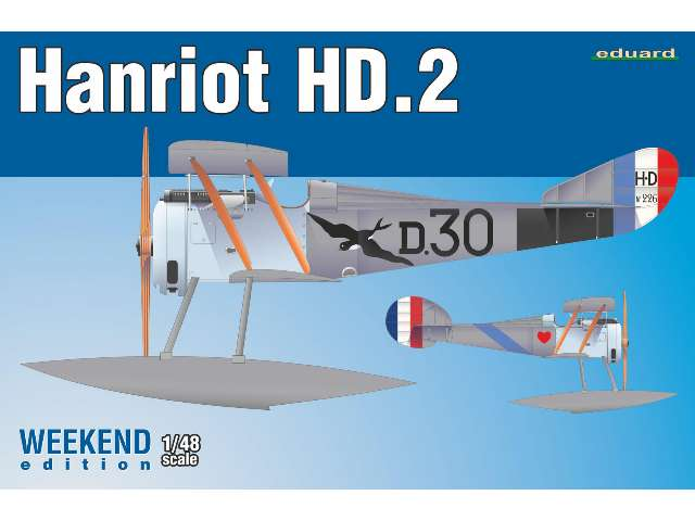 Eduard Hanriot HD.2  Floatplane - Weekend Edition 8413