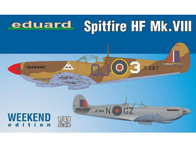 Eduard Spitfire HF Mk. VIII - Weekend Edition