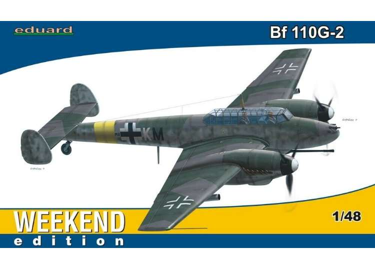 Eduard Bf110G-2 - Weekend Edition 84140