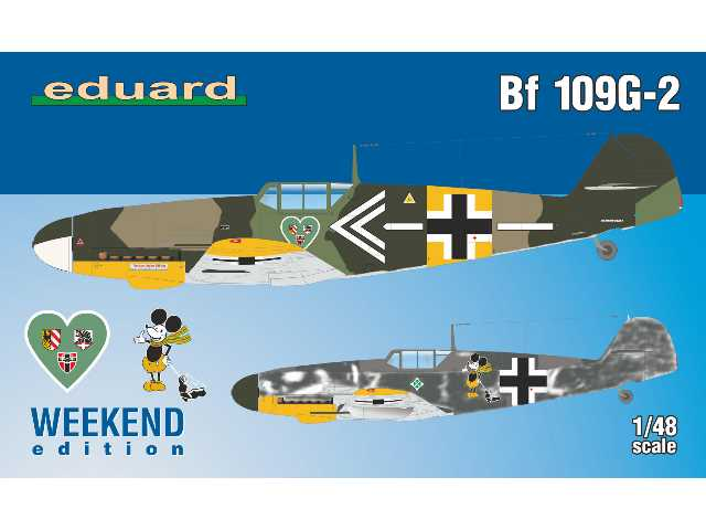 Eduard 1/48 84148 Bf 109G-2 - Weekend Edition