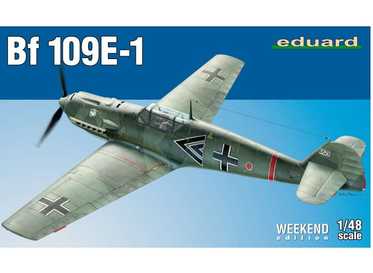 Eduard Bf109E-1  - Weekend Edition 84158