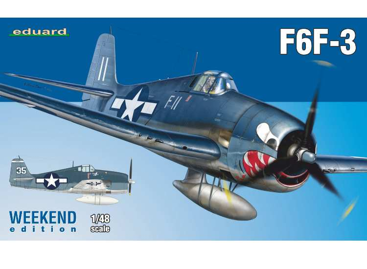 Eduard F6F-3 Hellcat - Weekend Edition 84160