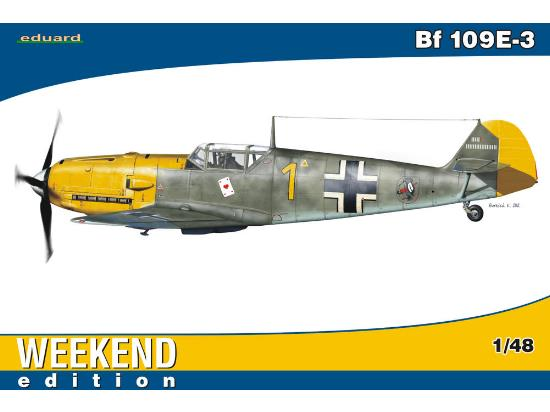 Eduard Bf 109E-3 - Weekend Edition