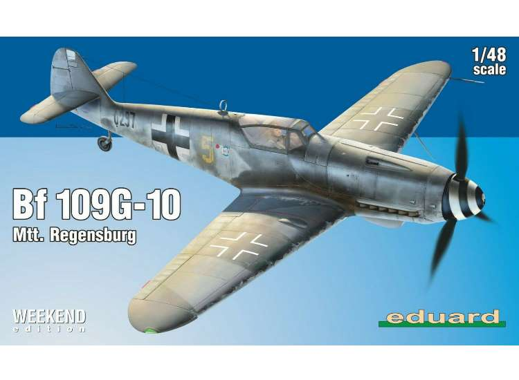 Eduard Bf109 G-10 - Weekend Edition 84168