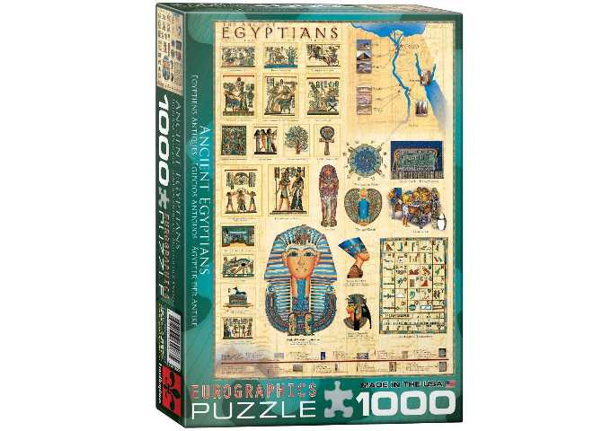 1000 Piece Jigsaw Puzzle - Ancient Egyptians