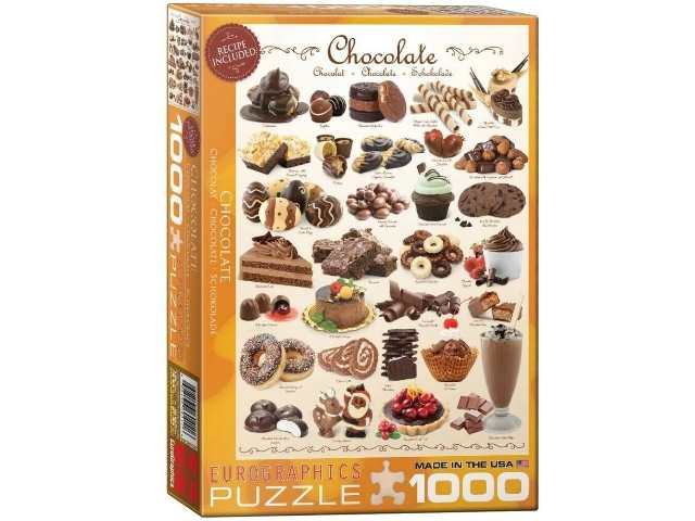 Eurographics 1000 Piece Jigsaw Puzzle - Chocolate 60000411