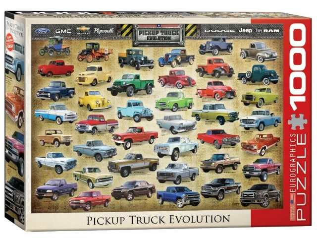 Eurographics 1000 Piece Jigsaw Puzzle - Pick Up Evolution 60000681