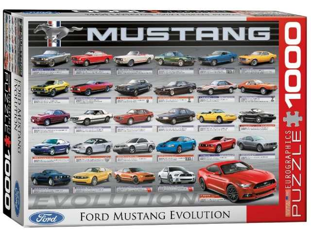 Eurographics 1000 Piece Jigsaw Puzzle - Ford Mustang 50th Anniversary 60000684