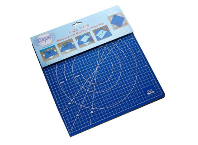 Expo Tools Rotating Self Healing Cutting Mat 71250