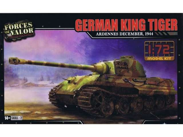 German King Tiger Henschel - Ardennes