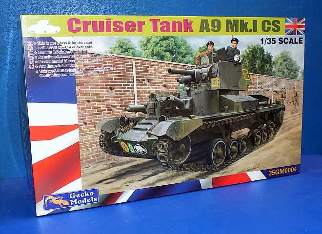 Gecko Models 1/35 35GM0004 A9 Mk.I CS Cruiser Tank