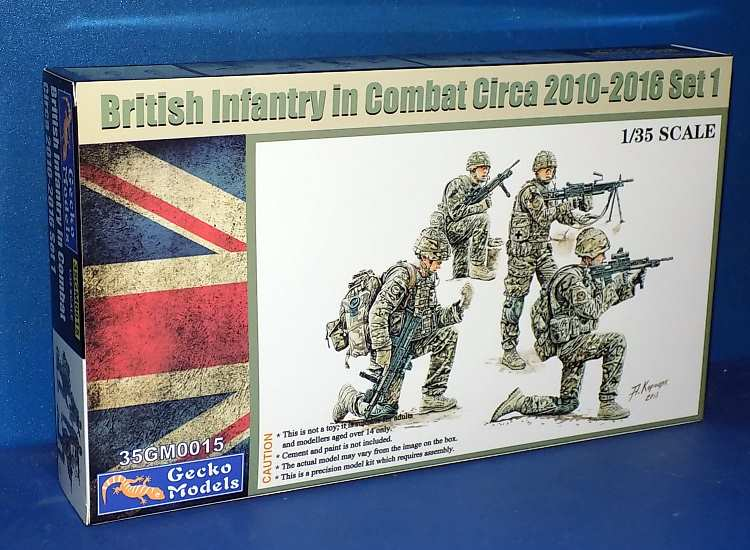 British Infantry in Combat 2010 to 2016 set 1