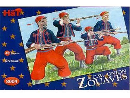 American Civil War Union. Zouaves