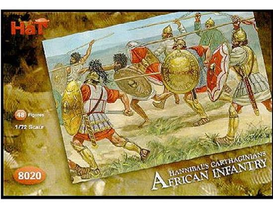 Hat - Carthaginians African Infantry 1/72 8020