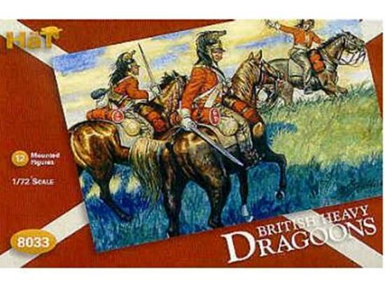 Hat Napoleonic British Dragoons 8033