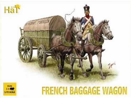 Hat French Baggage Wagon