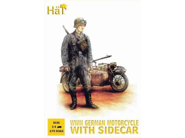 Hat German Motorcycle Reconnaissance (ex 99010) 8126