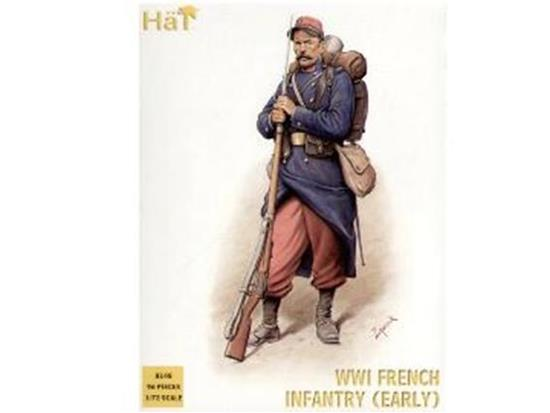 Hat WWI French Infantry - early 8148