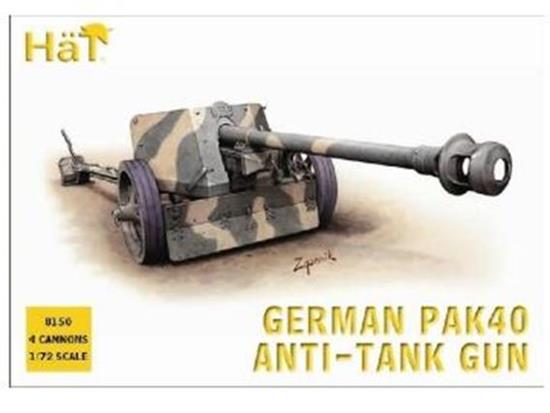 Hat WWII German Pak40 75mm AT gun