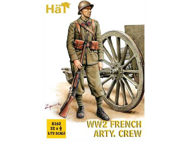Hat 1/72 8162 WWII French Artillery Crew