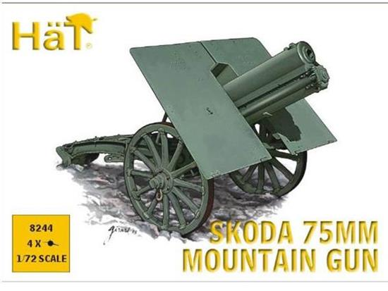 Hat WWI / WWII Skoda 75mm Mountain Gun 8244