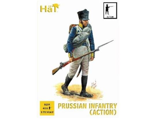 Hat Prussian Infantry Action Napoleonic Period 8254