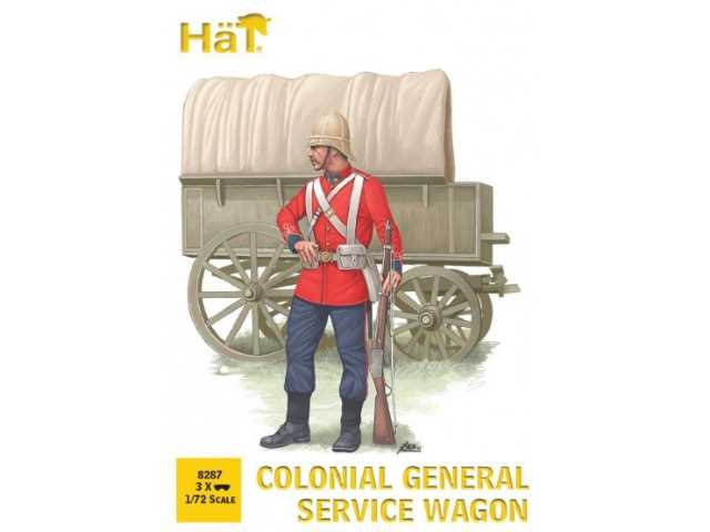 Hat 1/72 8287 Colonial General Service Wagon