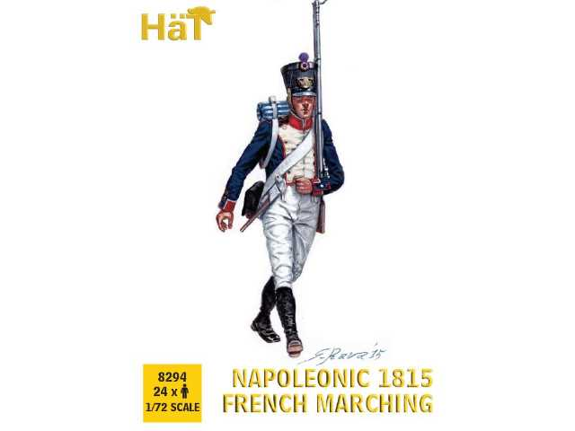 Hat 1/72 8294 1815 French Line Infantry Marching