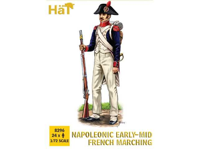 Hat 1/72 8296 pre-1812 French Line Infantry Marching