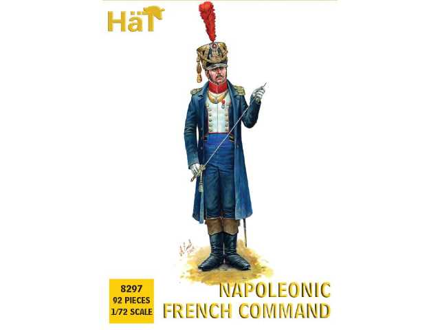 Hat 1/72 8297 French Line Infantry Command