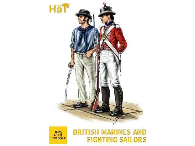Hat 1/72 8325 British Marines and Sailors