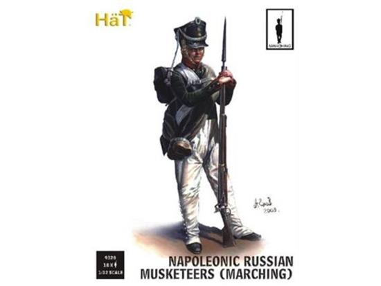 Russian Infantry Marching Napoleonic Period