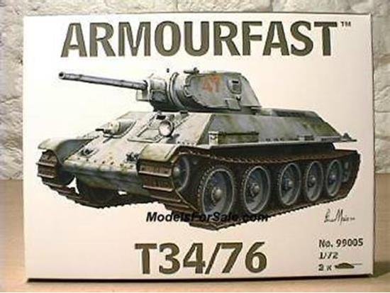 Armourfast T34/76 Russian Tank 99005